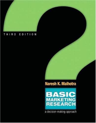 Basic marketing research & qualtrics pkg (3rd edition) by naresh k.