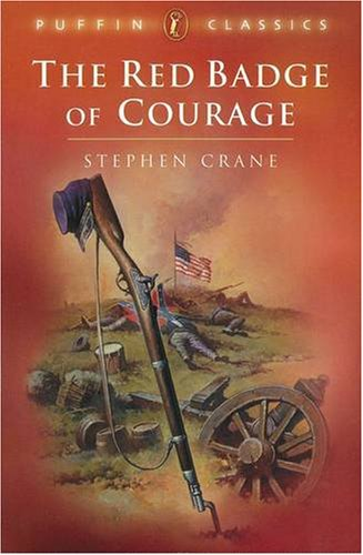 the red badge of courage essays - the red badge of courage stephen crane's the red badge of courage, combines realism and naturalism to depict the deadly confrontation of men in war the use of these traits uniquely exhibits crane's talent to express characters, to describe setting, and to create a theme.