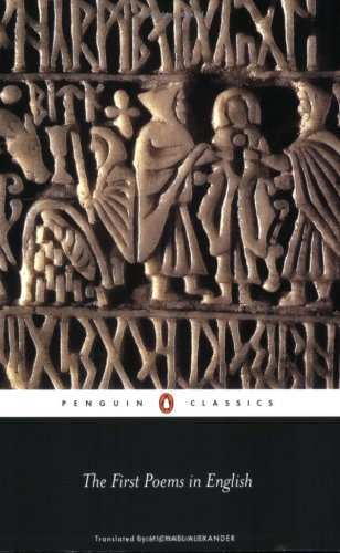 The First Poems in English (Penguin Classics) - Anonymous