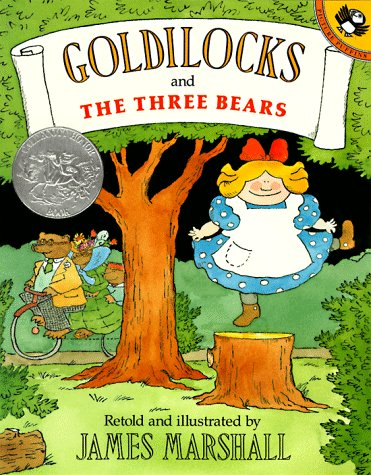 Goldilocks and the Three Bears (Picture Puffin Books) - James Marshall