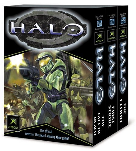 Halo Books 1 3 The Flood First Strike The Fall Of Reach Eric