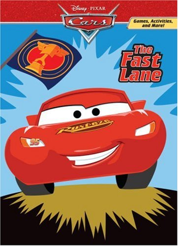 The Fast Lane Deluxe Coloring BookCars Movie Tie In