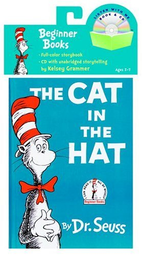 cat in hat book pictures. The Cat in the Hat Book amp; CD