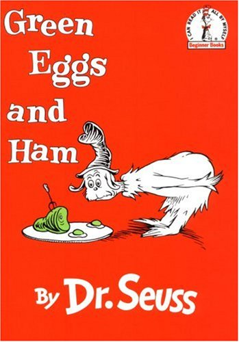Green Eggs and Ham (I Can Read It All by Myself Beginner Books) - Dr. Seuss