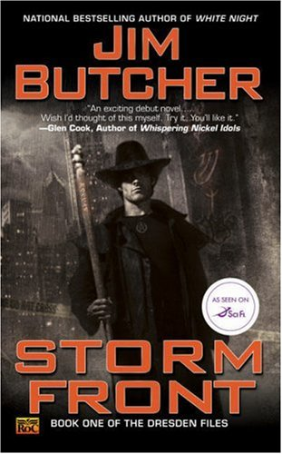 Storm Front (The Dresden Files, Book 1) - Jim Butcher