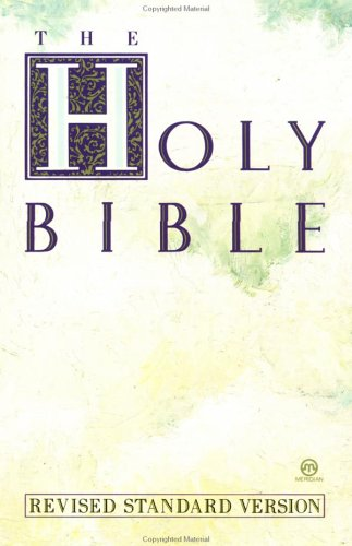 Holy Bible, Revised Standard Version (Meridian) - Anonymous