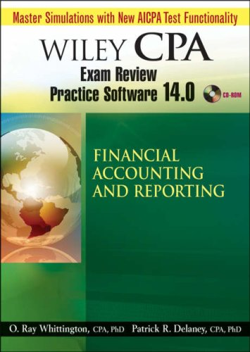 Wiley CPA Examination Review Practice Software 14 0 Financial