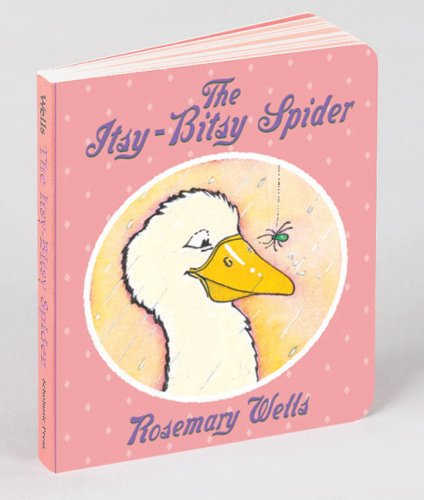 The Itsy Bitsy Spider (Bunny Reads Back) - Rosemary Wells