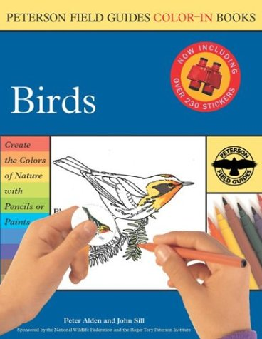Birds (Peterson Field Guide Color-in Book) - Roger Tory Peterson