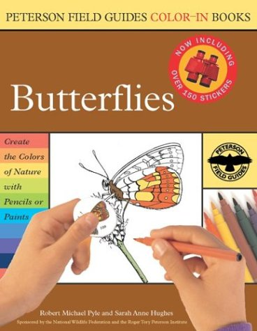 Butterflies (Peterson Field Guide Color-in Books) - Roger Tory Peterson