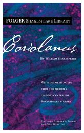 Coriolanus (Folger Shakespeare Library) - William Shakespeare