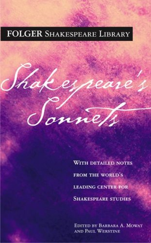 Shakespeare's Sonnets (Folger Shakespeare Library) - William Shakespeare