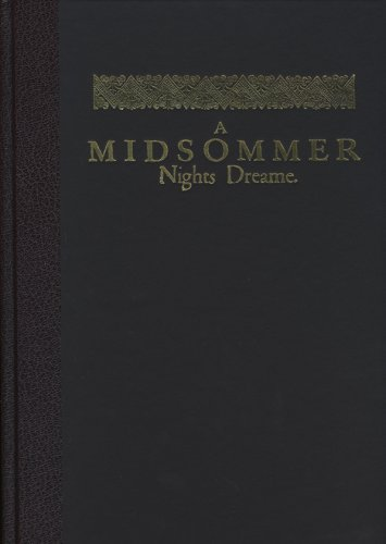 A Midsummer Night's Dream (Shakespeares First Folio) - William Shakespeare