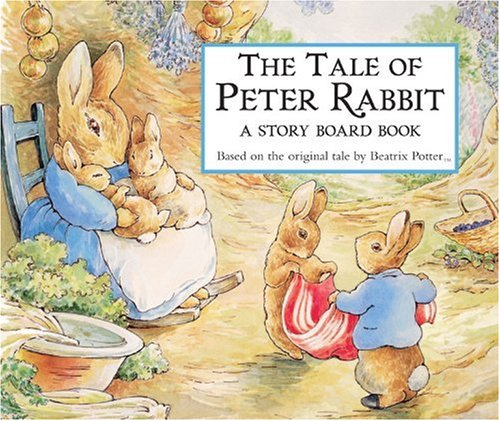 The Tale of Peter Rabbit Story Board Book (Potter) - Beatrix Potter