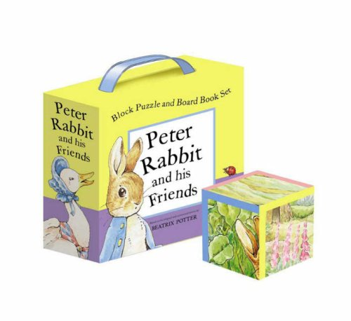 Peter Rabbit and His Friends A Block Puzzle and Board Book Set (Potter) - Beatrix Potter