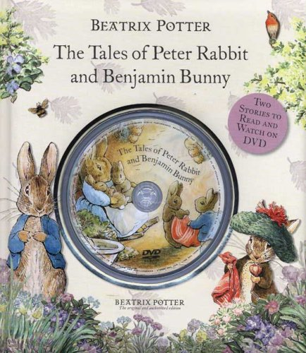 Beatrix Potter's The Tales of Peter Rabbit and Benjamin Bunny book and dvd - Beatrix Potter