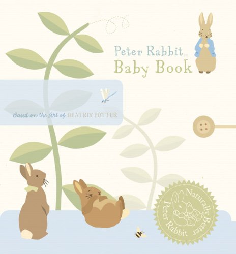 Peter Rabbit Baby Record Book (Peter Rabbit Naturally Better) - Beatrix Potter