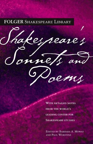Shakespeare's Sonnets & Poems (Folger Shakespeare Library) - William Shakespeare