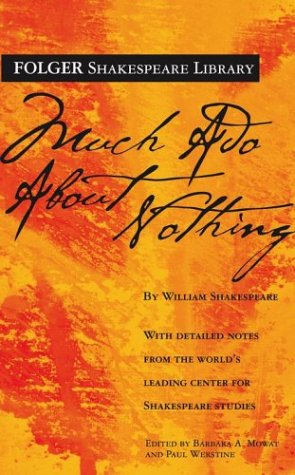 Much Ado About Nothing (Folger Shakespeare Library) / William Shakespeare