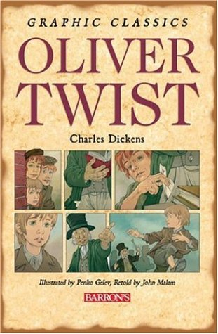 Oliver Twist (Graphic Classics (Paper)) - Charles Dickens