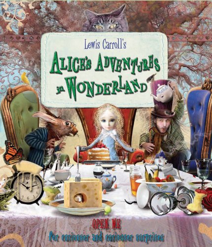 "Alice's Adventures in Wonderland: ""Open Me for Curiouser and Curiouser Surprises"" - Lewis Carroll"