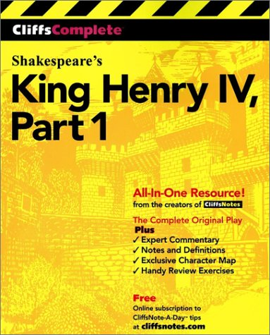 King Henry IV, Part 1 (Cliffs Complete) - William Shakespeare