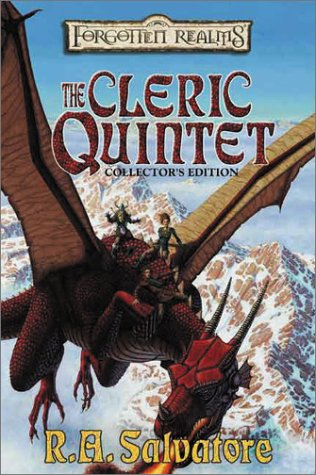 The Cleric Quintet - books 1-5 - Canticle, Sylvan Shadows, Night Masks, fallen Fortress, Chaos Curse - R. A. Salvatore