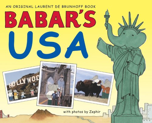 Babar's USA (Babar (Harry N. Abrams)) - Laurent de Brunhoff
