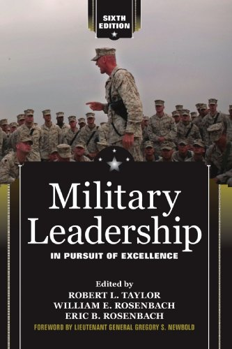 essay military leadership