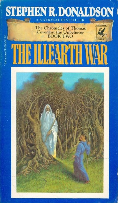 The illearth war - THE CHRONICLES OF COVENANT THE           LMS PLUS    ספריה עירונית כרמיאל                  תאריך - 02 / Stephen R Donaldson