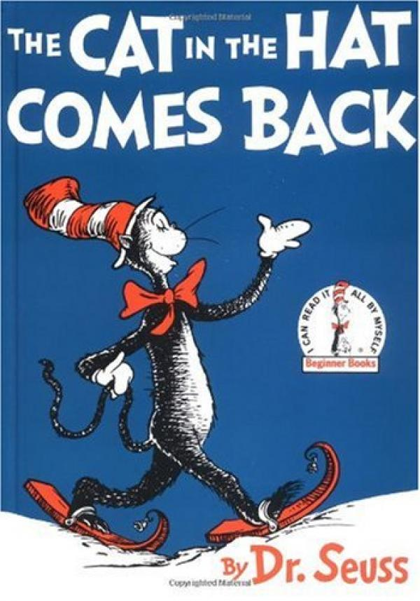 The cat in the hat comes back! - BEGINNER BOOKS # - Dr Seuss