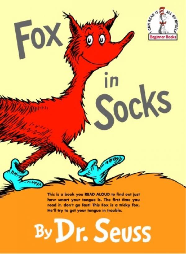Fox in socks - EINSTEI...