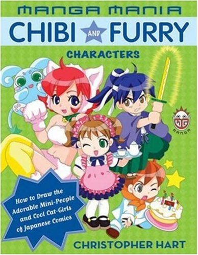 Manga Mania: Chibi and Furry Characters: How to Draw the Adorable ...