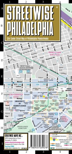 Streetwise Chicago Map.הוצאת Streetwise Maps