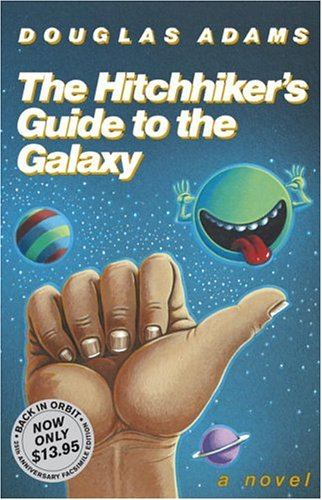 Douglas Adams – The Hitchhikers Guide To The Galaxy – Book Review