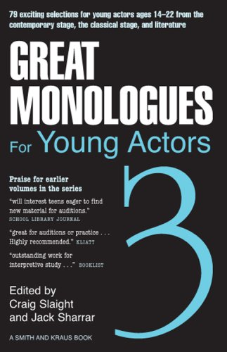 magnificent monologues for kids the kids monologues source for every occasion hollywood 101