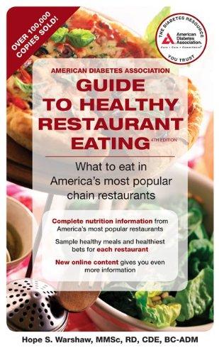 American Diabetes Guide To Healthy Restaurant Eating American