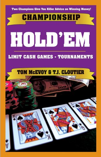super system 2 winning strategies for limit holdem cash games and tournament tactics