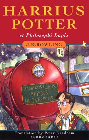 Harrius Potter et Philosophi Lapis (Harry Potter and the Philosopher's Stone, Latin Edition) - J. K. Rowling