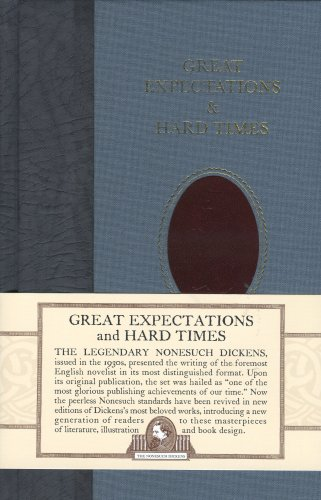 Great Expectations and Hard Times (Nonesuch Dickens) - Charles Dickens