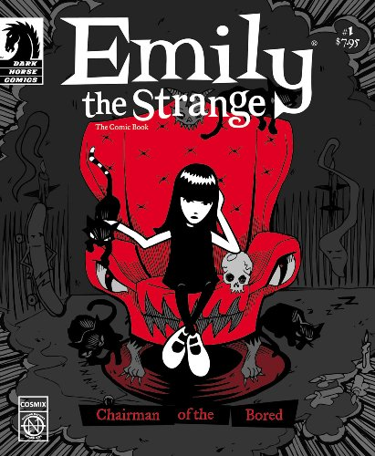 Emily The Strange #1: The Boring Issue (v. 1) - Cosmic Debris