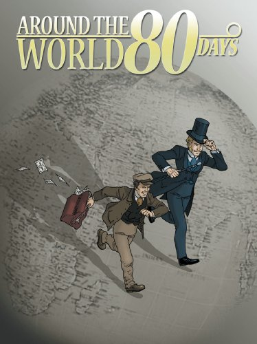 Around The World In 80 Days (Idw Graphic Classics) - Jules Verne