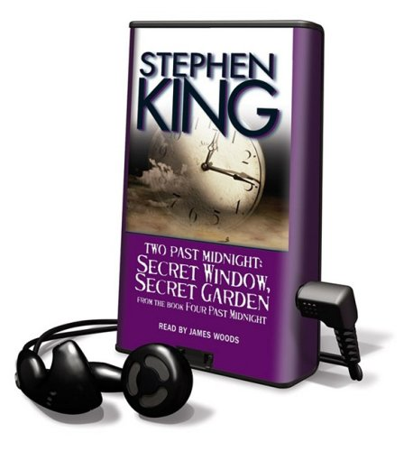 Two Past Midnight: Secret Window, Secret Garden [With Headphones] (Playaway Adult Fiction) - Stephen King