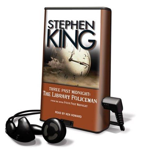 Three Past Midnight: The Library Policeman [With Earbuds] (Playaway Adult Fiction) - Stephen King