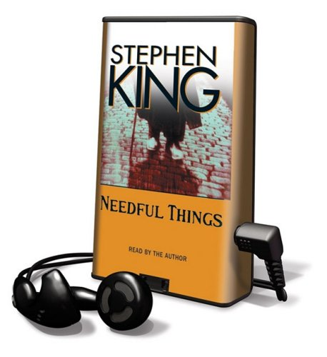 Needful Things [With Earbuds] (Playaway Adult Fiction) - Stephen King