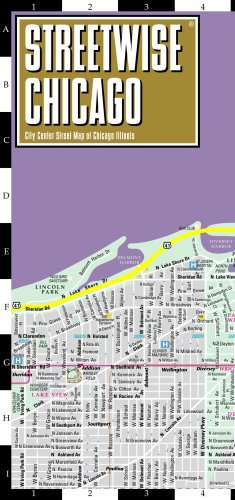 Streetwise Chicago Map - Laminated City Center Street Map of Chicago ...