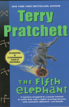 The fifth elephant - A DISCWORLD NOVEL # - Terry Pratchett