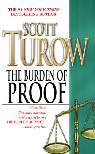 The burden of proof - A TIME WARNER COMPANY # / Scott Turow