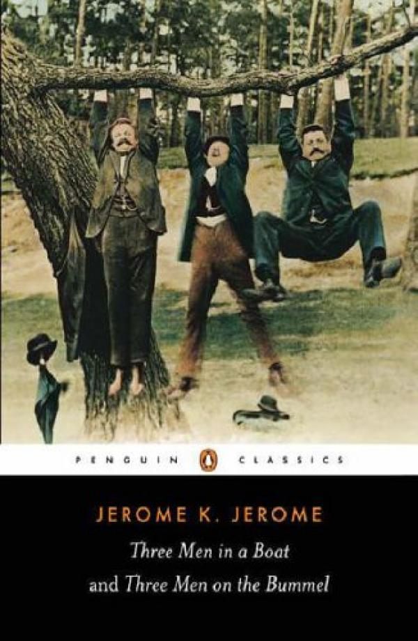 Three Men In a Boat (to say nothing of the dog) - PENGUIN POPULAR CLASSICS # / Jerome K. Jerome