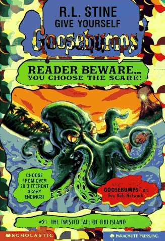 The Twisted Tale of Tiki Island (Give Yourself Goosebumps, No 21) - R. L. Stine